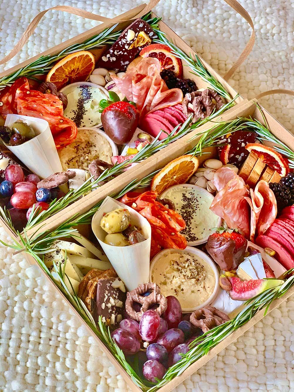 Piccolo Grazing Platter Box Mornington Peninsula Il Padrino Woodfire Pizza