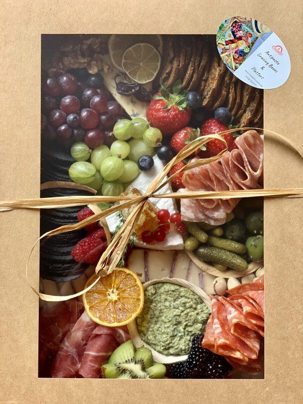 small antipasto platter in box